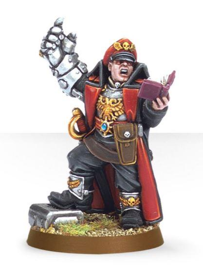 Commissar with Powerfist