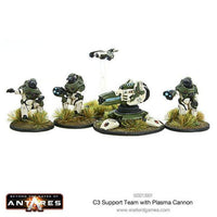 Concord Support Team with Plasma Cannon