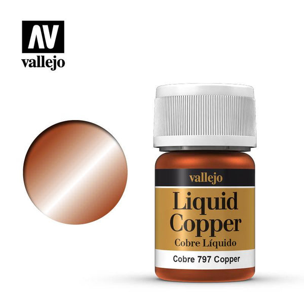 Vallejo Copper 218 (Alcohol Based) 35ml