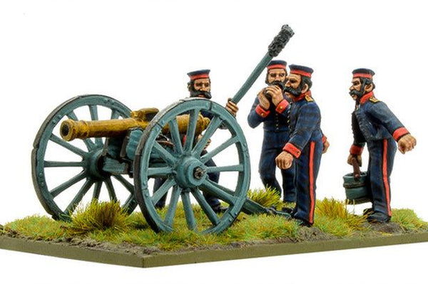 Crimean War: British Royal Artillery with 9-pdr cannon