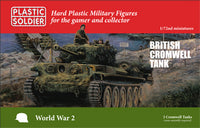 1/72 British Cromwell Tank (3pcs)