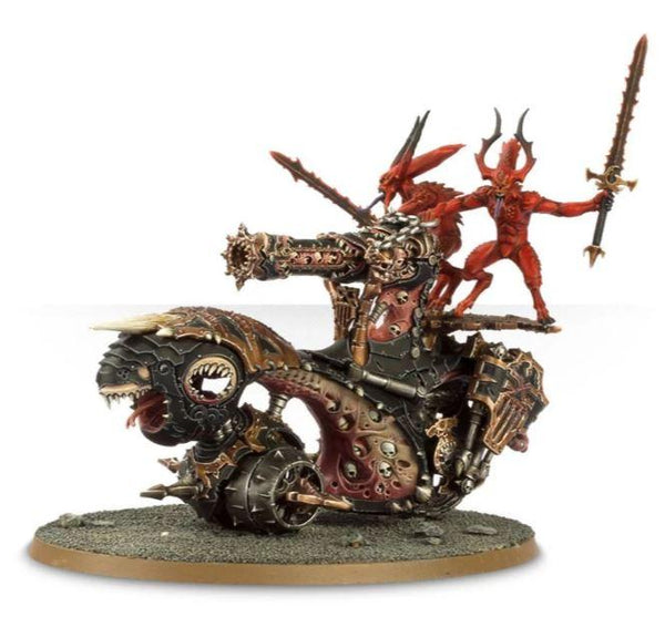 Daemons Of Khorne Skull Cannon / Blood Throne of Khorne