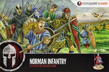 Dark Ages: Norman Infantry 44 Plastic figures