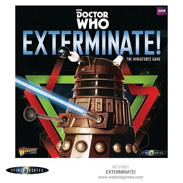 Dr Who Exterminate! The Miniature Game.