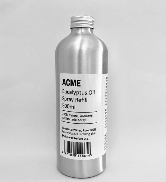 ACME Eucalyptus Oil Spray Refill 500ml