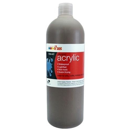 FAS Student Acrylic 500ml Burnt Umber