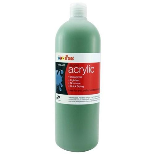 FAS Student Acrylic 500ml Green Dark