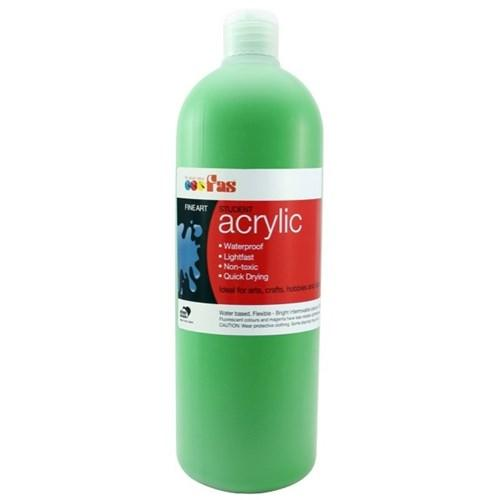 FAS Student Acrylic 500ml Green Light