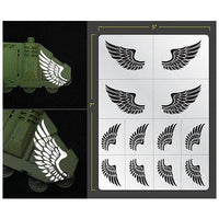 Airbrush Stencil: Wings