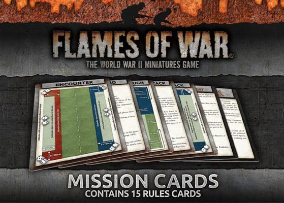 FOW Mission Cards