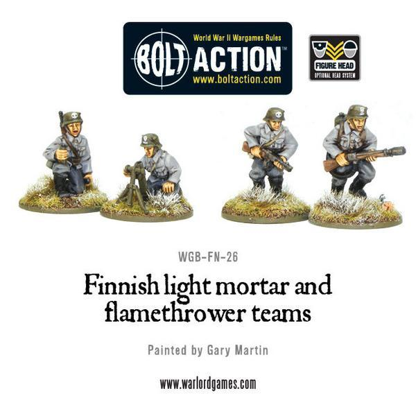 Finnish Light Mortar & Flamethrower