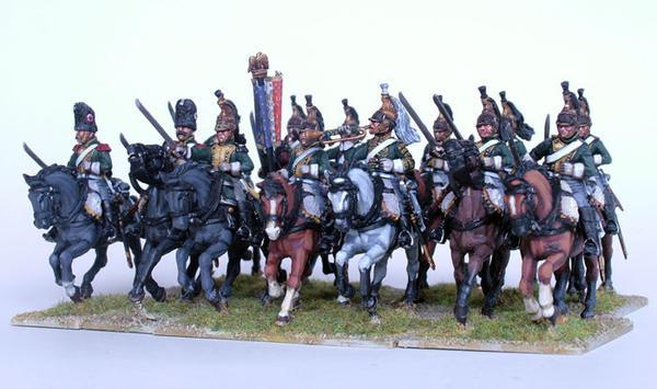 French Dragoons 1812-1815 Perry