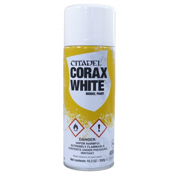 Spray Paint : Corax White