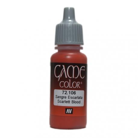 Game Color Scarlett Blood 17ml