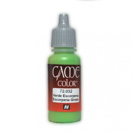 Game Color Scorpion Scorpy Green 17ml