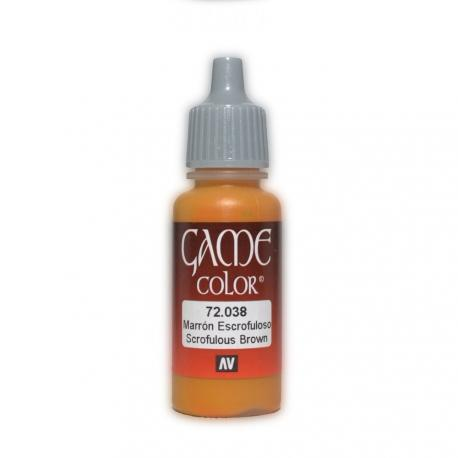 Game Color Scrofulous Brown 17ml