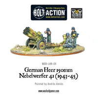 German Army - Heer 150mm Nebelwerfer 41 (1943-45)