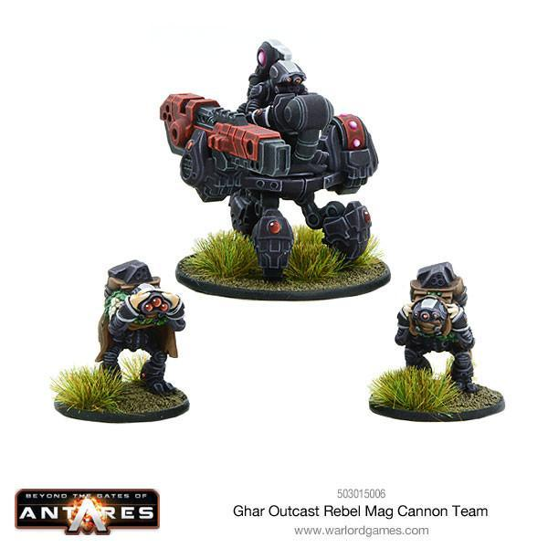 Ghar Outcast Rebel Mag Cannon
