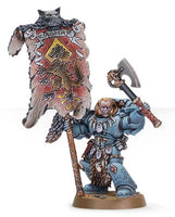 Grey Hunter with Wolf Standard