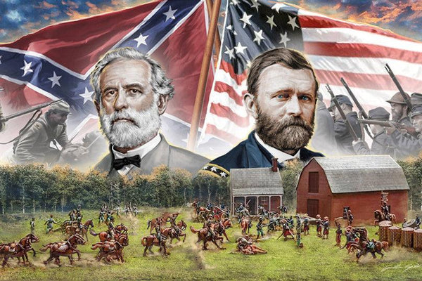 Italeri 1/72: FARMHOUSE BATTLE - American Civil War 1864 - BATTLE SET