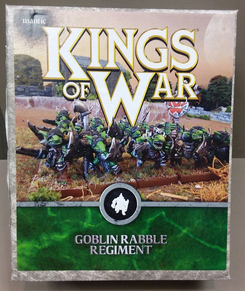 Kings of War: Goblin Rabble Regiment