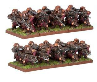 KoW Dwarf Ironwatch Regiment