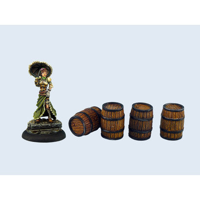 Medium Wooden Barrels