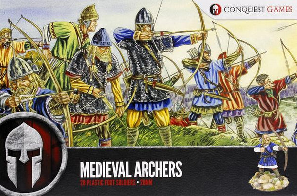 Medieval Archers (28 Plastic Foot Soldiers)