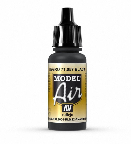 Model Air Black 17ml