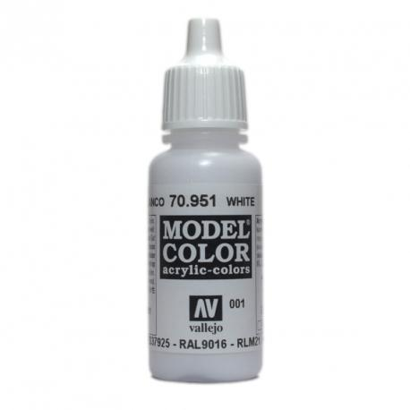 Model Color 001 White 17ml