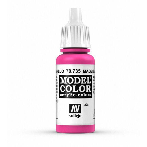 Model Color 208 Magenta Fluorescent 17ml