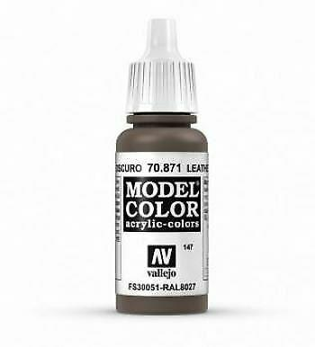 Model Color Leather Brown 147 17ml