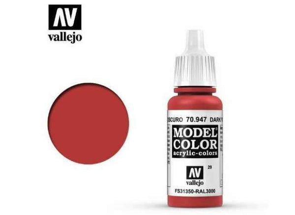 Model Color Red Vermillion 029 17ml
