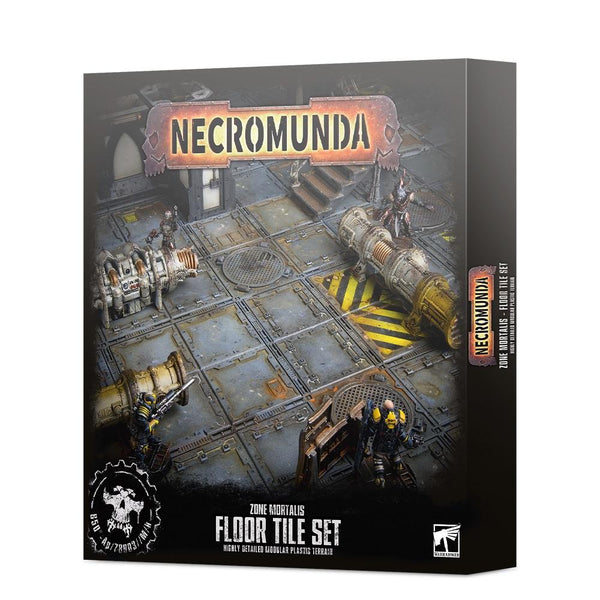 Necromunda: Zone Mortalis Floor Tile Set