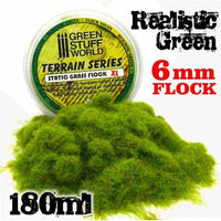 Nylon Flock XL 6mm - Realistic Green 180ml