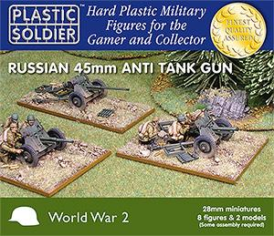 28mm Russian / Soviet 45mm Anti Tanks Guns