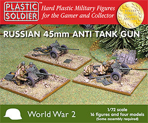 1/72 Soviet Russian 45mm Anti Tank Guns
