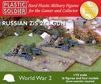 1/72 Soviet Zis 2 and 3 Anti-Tank / Field Gun
