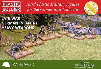 1/72 German Heavy Weapons WWII