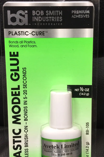 Plastic Cure 1/2oz Brush-On