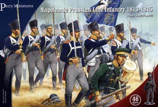 Prussian Napoleonic Line Infantry 18-13-15 - Perry