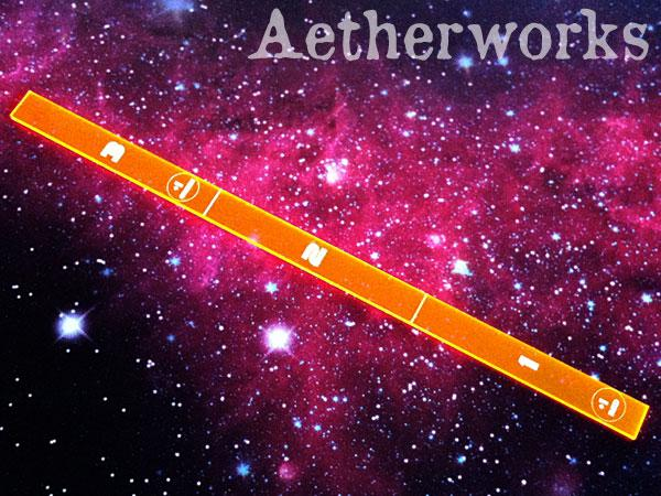 Range Ruler (Flourescent Red)