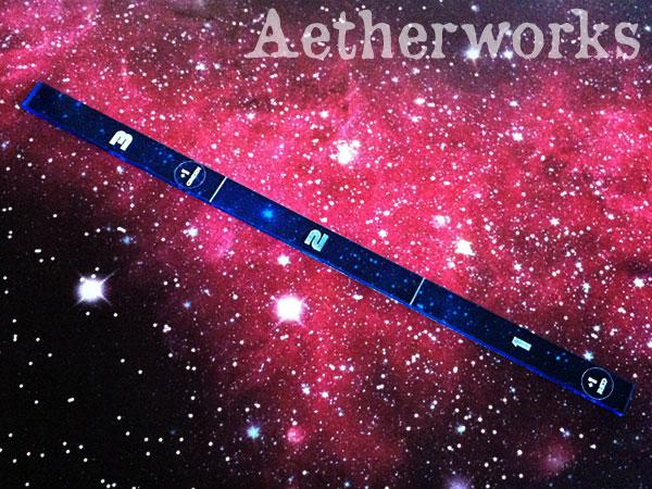 Range Ruler (Translucent Blue)