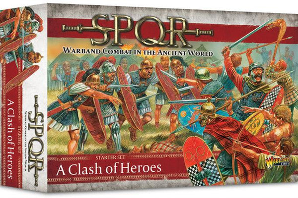 SPQR: Starter Set - Clash of Heroes