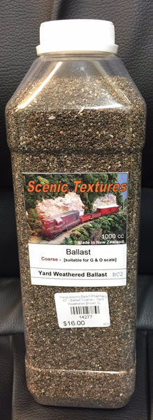 ST - Ballast Coarse - Yard Weathered Brown 1L