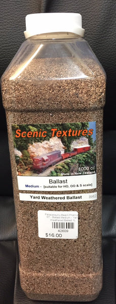 ST - Ballast Medium - Yard Weathered Ballast 1L