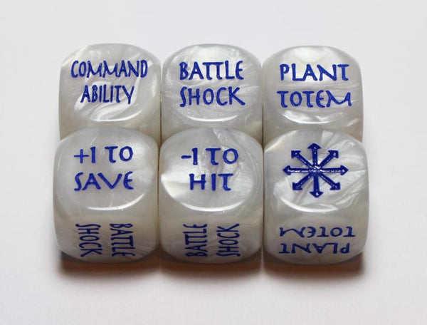 Scenery Dice - Blue