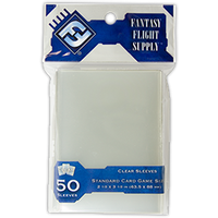 Standard Card Sleeves 63.5 x 88mm (Pack of 50)