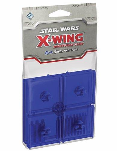 Star Wars X-Wing: Blue Bases & Pegs