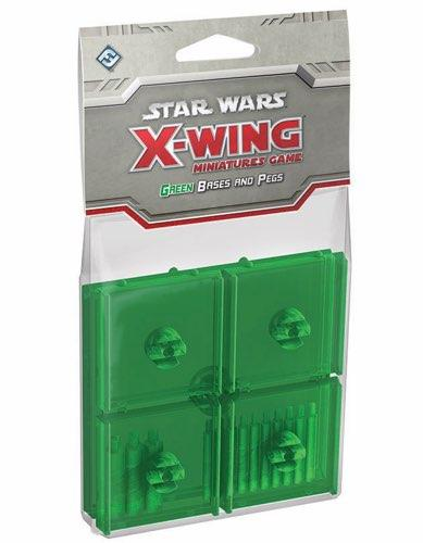 Star Wars X-Wing: Green Bases & Pegs